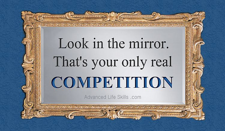 wise words about competition