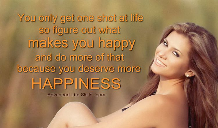 life lessons about happiness